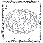 Mandala Coloring Pages - Geomandala 5
