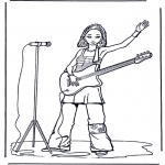 All sorts of - Girl with guitar