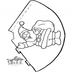 Christmas coloring pages - Had Christmas 2