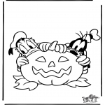 Theme coloring pages - Halloween 2