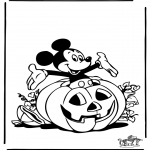 Theme coloring pages - Halloween 3
