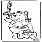 Theme coloring pages - Halloween 7