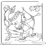 Comic Characters - Hiawatha