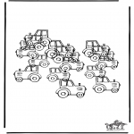 Crafts - How many tractors