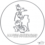 Theme coloring pages - Hurrah 4 year