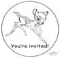 Invitation Bambi