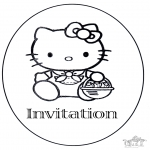 Crafts - Invitation birthday