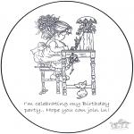 Crafts - Invitation Sarah Kay 1