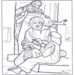 Bible coloring pages - Jairus' daughter 3