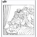 Bible coloring pages - Jairus' daughter 4