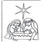 Jesus in crib