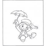 Comic Characters - Jiminy Cricket