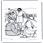 Bible coloring pages - John the baptist