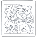 Animals coloring pages - Koala