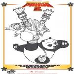 Comic Characters - Kung Fu Panda 2 Drawing 4