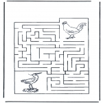 Crafts - Labyrinth birds