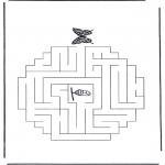 Crafts - Labyrinth butterfly