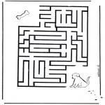 Crafts - Labyrinth dog