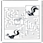 Crafts - Labyrinth skunk