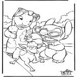 Comic Characters - Lilo and Stitch 4