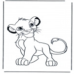 Animals coloring pages - Lions 4