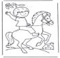 Little boy on horse