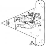 Crafts - Little flag 1
