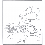 Kids coloring pages - Little Polar Bear 10