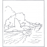 Kids coloring pages - Little Polar Bear 11