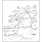 Kids coloring pages - Little Polar Bear 7