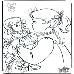 Christmas coloring pages - Look for 10 xmas bows
