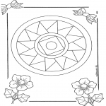 Mandala Coloring Pages - Mandala 10