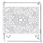 Mandala Coloring Pages - Mandala 15