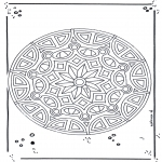Mandala Coloring Pages - Mandala 18