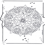 Mandala Coloring Pages - Mandala 19