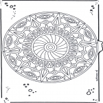 Mandala Coloring Pages - Mandala 20