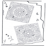 Mandala Coloring Pages - Mandala 24