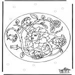 Mandala Coloring Pages - Mandala 26