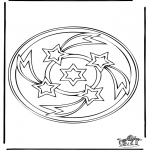 Mandala Coloring Pages - Mandala 34