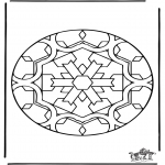 Mandala Coloring Pages - Mandala 35