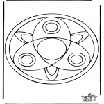 Mandala Coloring Pages - Mandala 37