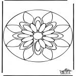 Mandala Coloring Pages - Mandala 38