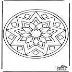 Mandala Coloring Pages - Mandala 39