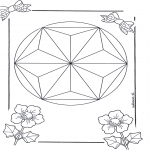 Mandala Coloring Pages - Mandala 6