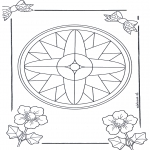 Mandala Coloring Pages - Mandala 7