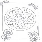 Mandala Coloring Pages - Mandala 9