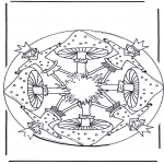 All sorts of - Mandala with mushroom 1