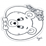 Crafts - Mask bear