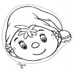 Crafts - Mask little elf