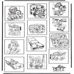 Crafts - Memory Cars